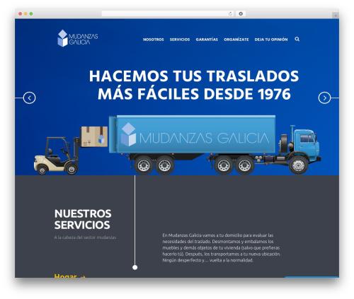 Global Logistics WP template - mudanzasgalicia.com