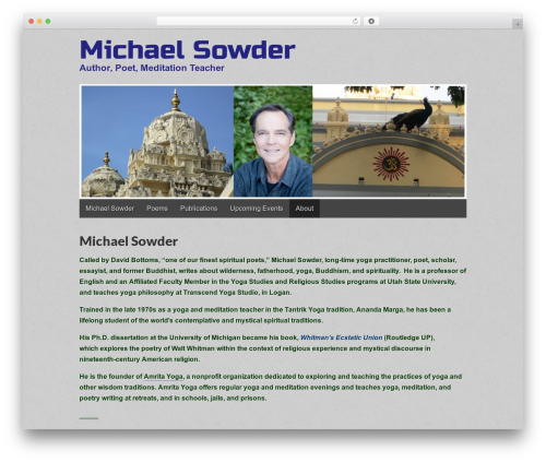 Gridiculous WordPress theme - michaelsowder.org