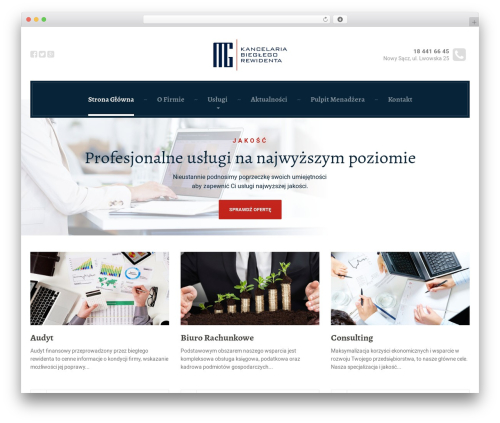 LegalPress by ProteusThemes WP template - mgkancelaria.pl