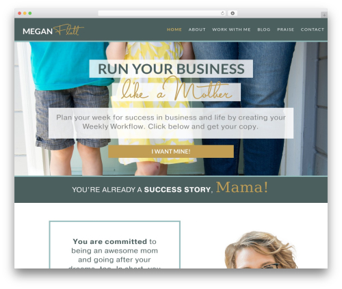 Theme WordPress Divi - meganflatt.com