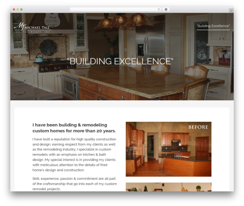 WP theme Lyrical - michaeltallcustomhomes.com