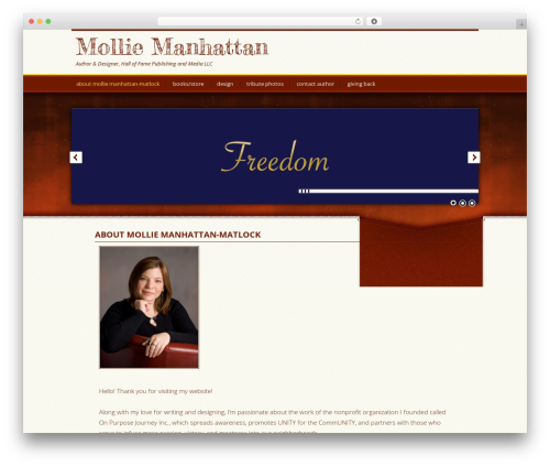 Best WordPress template Genesis - molliemanhattan.com