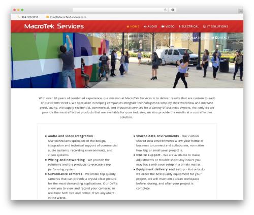 Best WordPress theme Opus - Wordpress Theme - macrotekservices.com