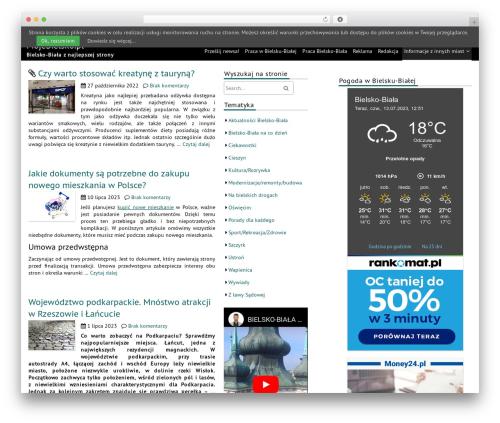 fmagazine WordPress theme download - mojebielsko.pl