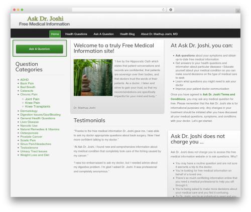 Gantry Theme for WordPress WP theme - madhupjoshimd.com