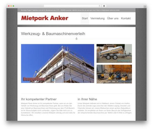 Nine WP template - mietpark-anker.de