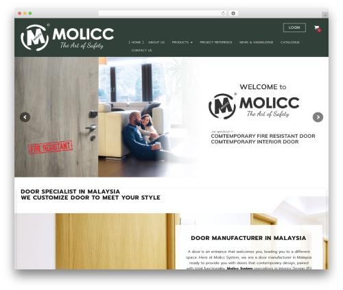 Ninja WordPress theme - molicc.com