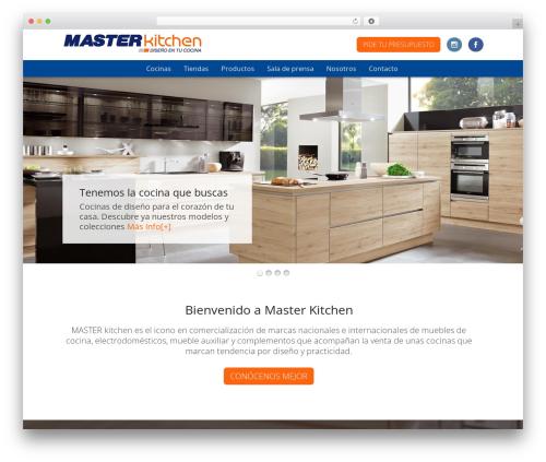 Storefront free website theme - masterkitchen.es