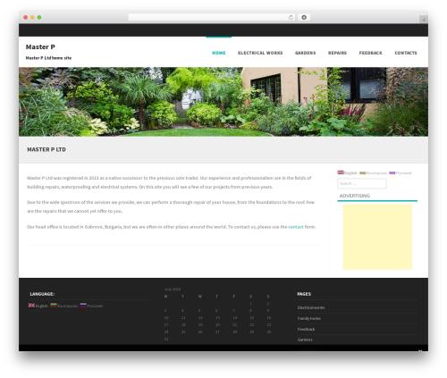 Template WordPress Formation - masterp.eu