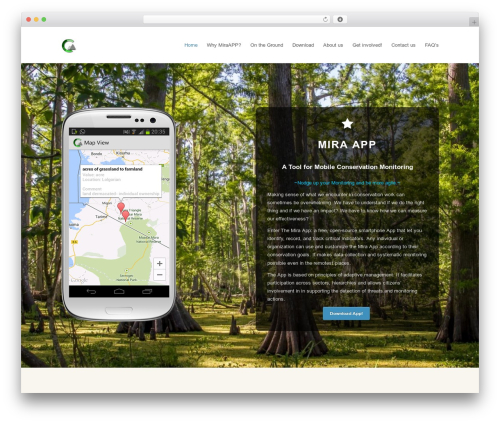 Total WordPress theme design - monitoringapp.net
