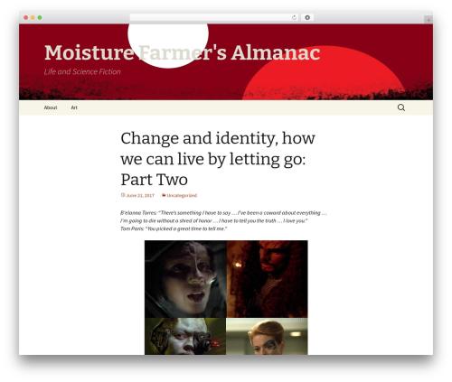 Twenty Thirteen theme free download - moisturefarmersalmanac.com