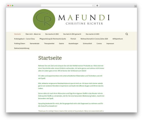 Twenty Thirteen WordPress theme free download - mafundi.de