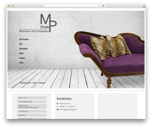 Virtue WordPress template free - mpstyle.at