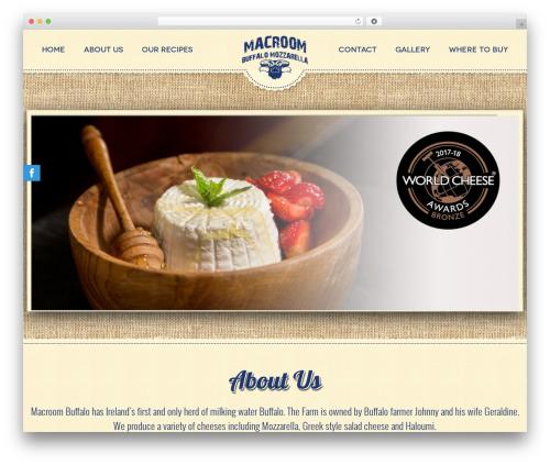 WordPress theme CmsSuperHero - macroombuffalocheese.com