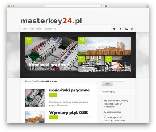 WordPress theme Nexus - masterkey24.pl