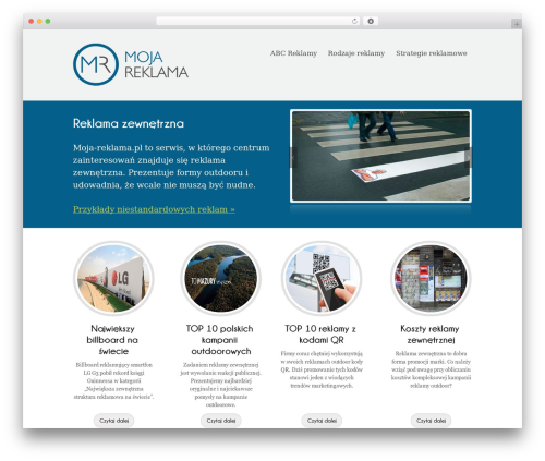 WordPress theme Poloray  Pro Responsive Theme - moja-reklama.pl