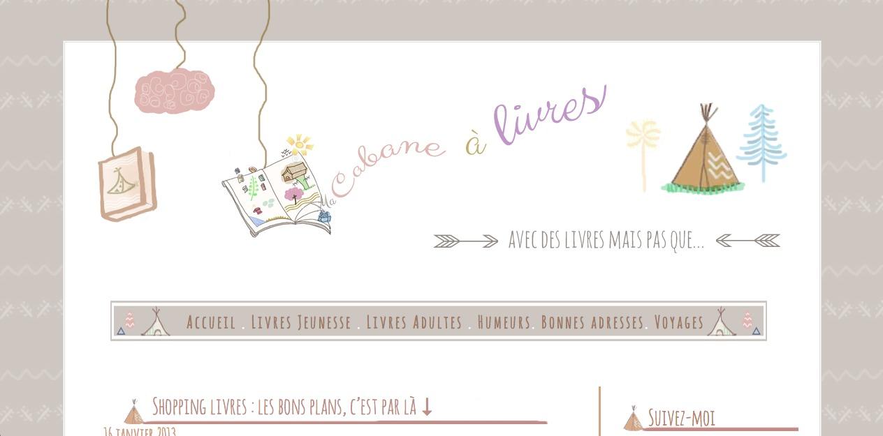 Best WordPress theme Ma Cabane à livres