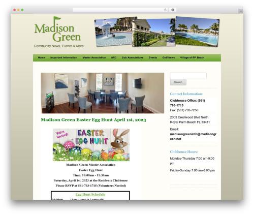 Carrington Text WordPress theme - madisongreen.net
