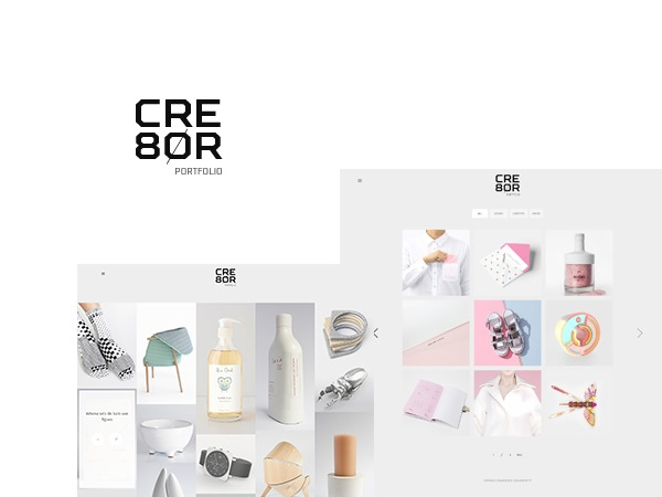 Cre8or WordPress theme