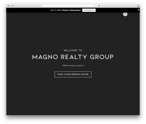 WordPress divi-100-hamburger-menu plugin - magnorealtygroup.com