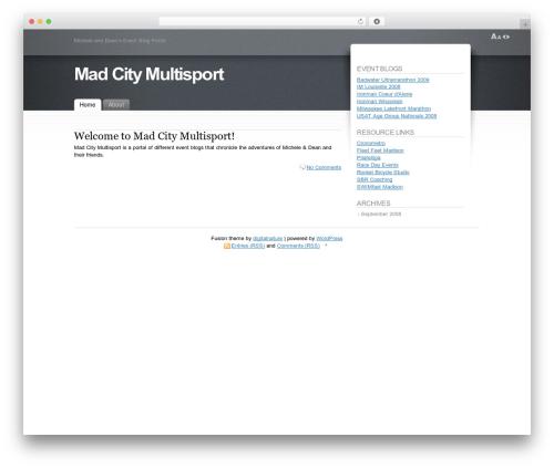 Fusion WordPress theme - madcitymulti.com