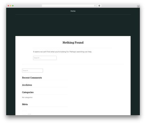 Padhang WordPress page template - madviolist.com