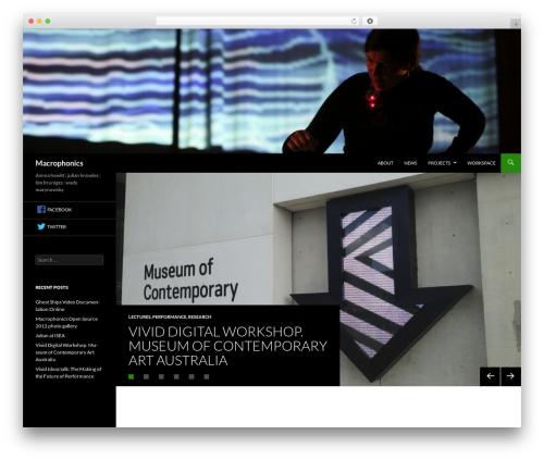 Sequel WP template - macrophonics.net