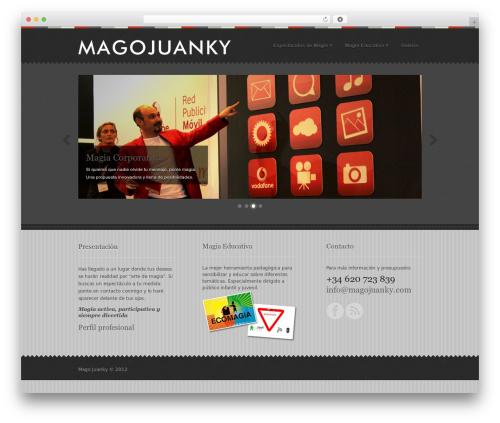 Swatch WordPress theme - magojuanky.com