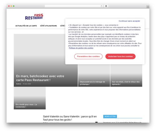 Free WordPress CSSIgniter Shortcodes plugin - macartepassrestaurant.fr