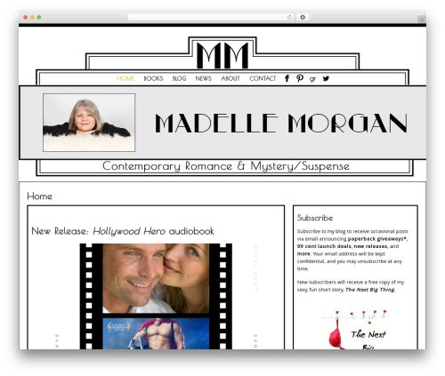 WordPress template Preferential - madellemorgan.com