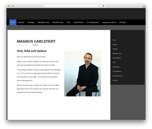 WordPress template Subtle - magnuscarlstedt.se