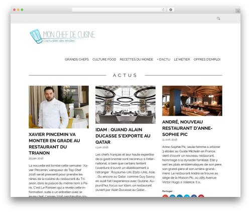 WP theme Simply Read - mon-chef-de-cuisine.restaurantemploi.com