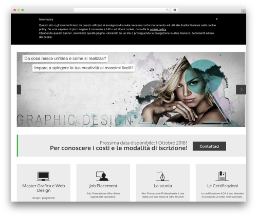 YellowProject Multipurpose Retina WP Theme premium WordPress theme - mastergraficaroma.it
