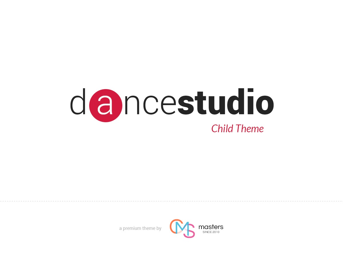 Dance Studio Child WordPress template