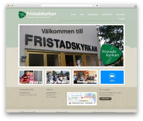 WordPress cforms plugin - fristadskyrkan.se