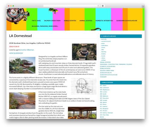 MyWiki free website theme - fritzhaeg.com/wikidiary/la-sundown-dome