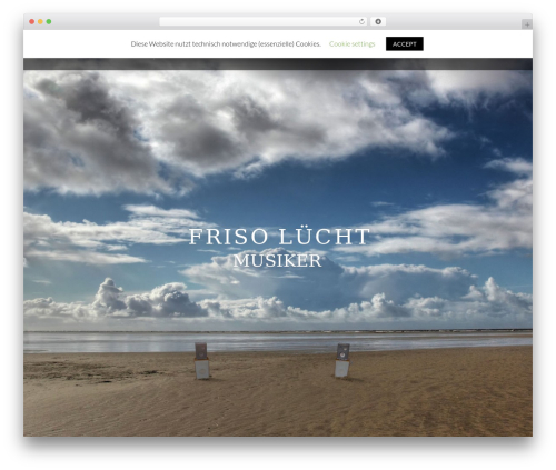 NOO Wemusic WordPress theme - frisoluecht.de