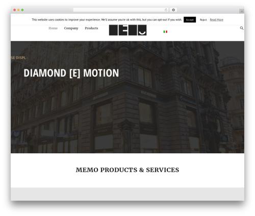 Theme WordPress Dejure - memo.co.at