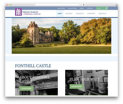 Twenty Fourteen theme WordPress - mercermuseum.org/visit/fonthill-castle/?utm_source=redirect_network&utm_medium=fonthillmuseum_org&utm_campaign=redirect