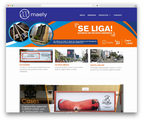 WordPress theme Action - maely.com.br