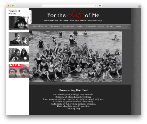 WordPress theme ProPhoto - forthelifeofme-film.com