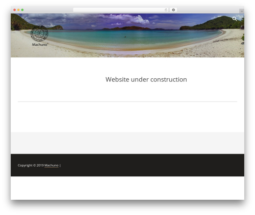 WordPress theme Radium - machuno.eu