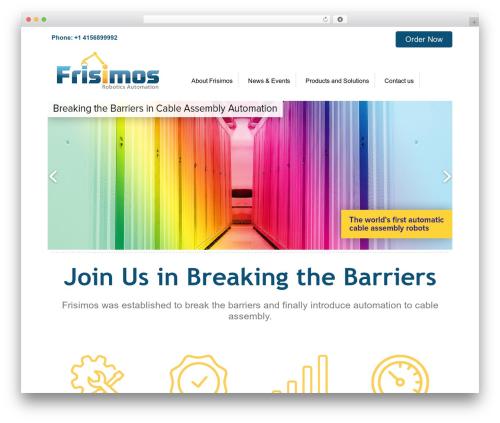 Free WordPress Easy Video Player plugin - frisimos.com