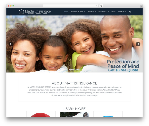 X WordPress theme - mattisinsurance.com