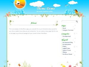 Ali Han Natural WordPress blog theme
