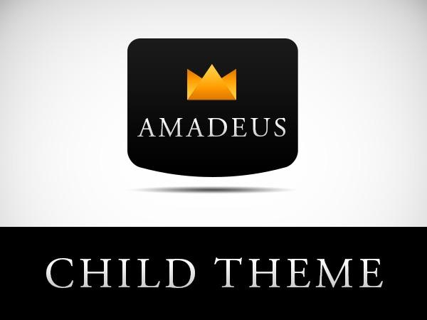AMADEUS Child Theme WP template
