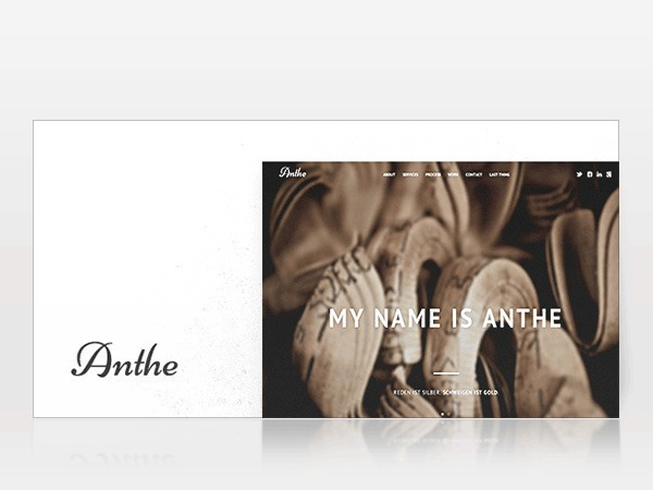 Anthe top WordPress theme