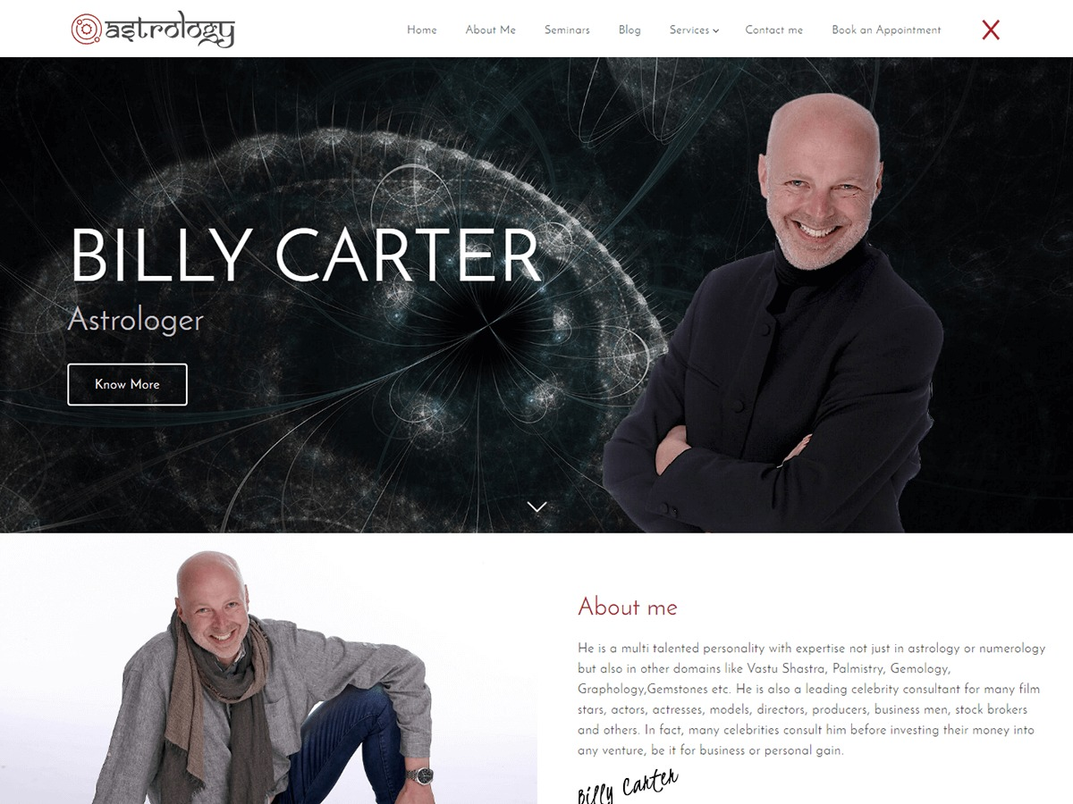 Astrology WordPress theme download