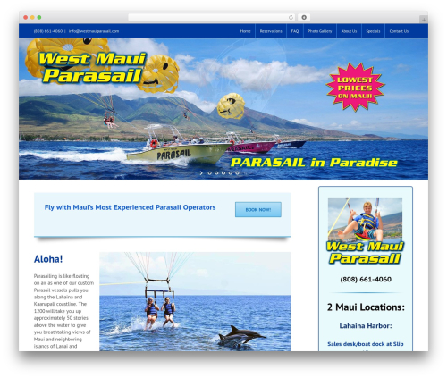 Free WordPress Easy Video Player plugin - westmauiparasail.com