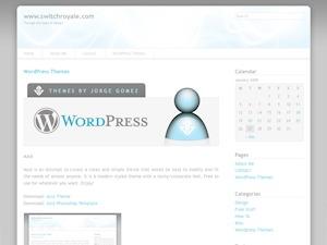 Azul WordPress shop theme